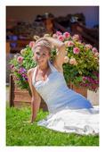 Svatební šaty 4 100 Kc, 38