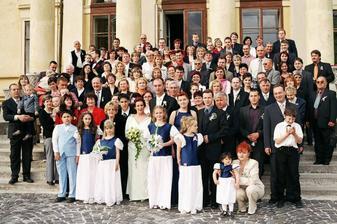 my a všetci svadobčania
