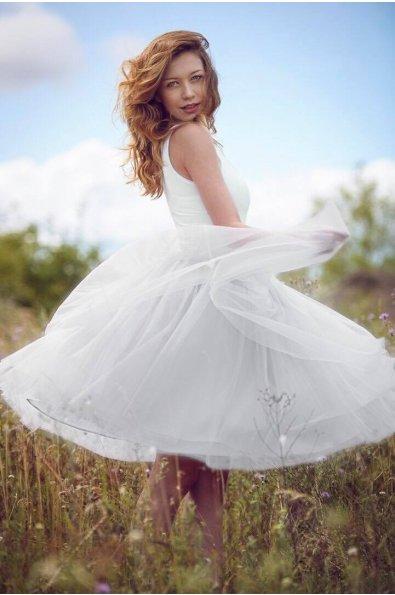 tutu sukně bílá 50 cm - Obrázek č. 1