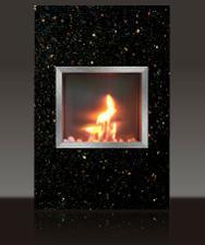 Tak tohodle krasavce si pořizujeme do obýváku - biokrb gothic - star galaxy