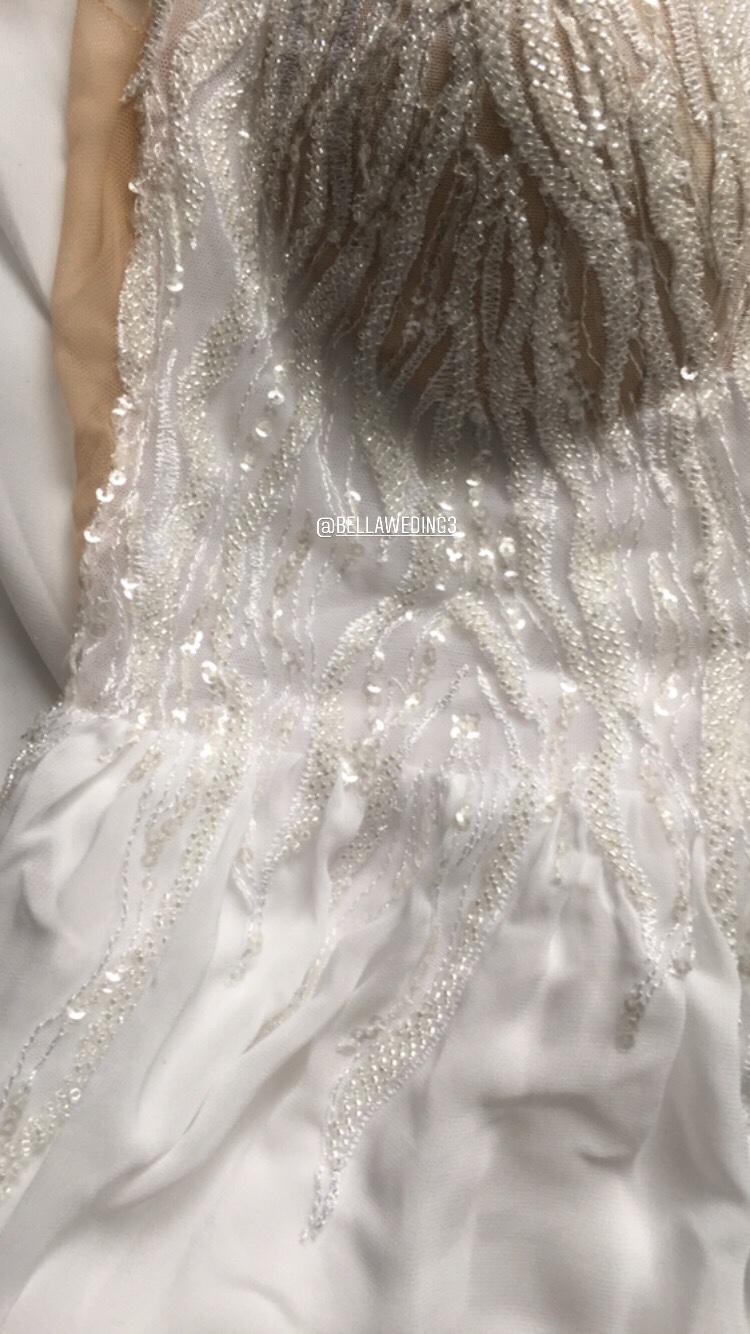 Ľahký model svadobných šiat 40 - Obrázok č. 3