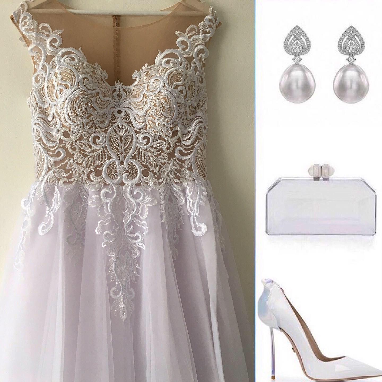 Biely model nadhernych svadobnych šiat 40 - Obrázok č. 1