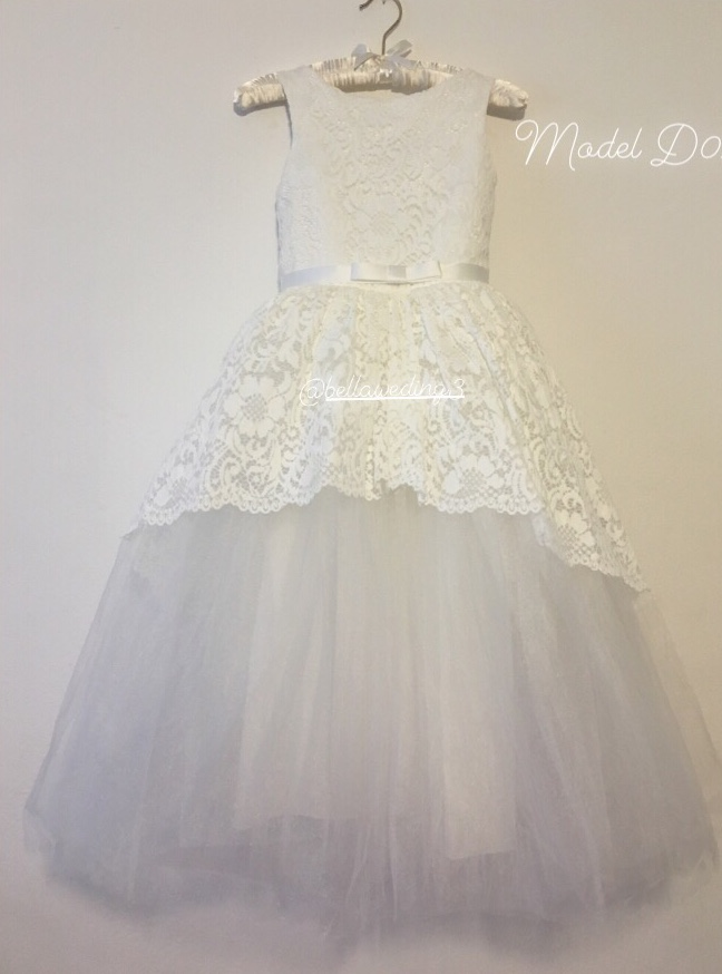 luxusné detske spoločenské šaty - Obrázok č. 1