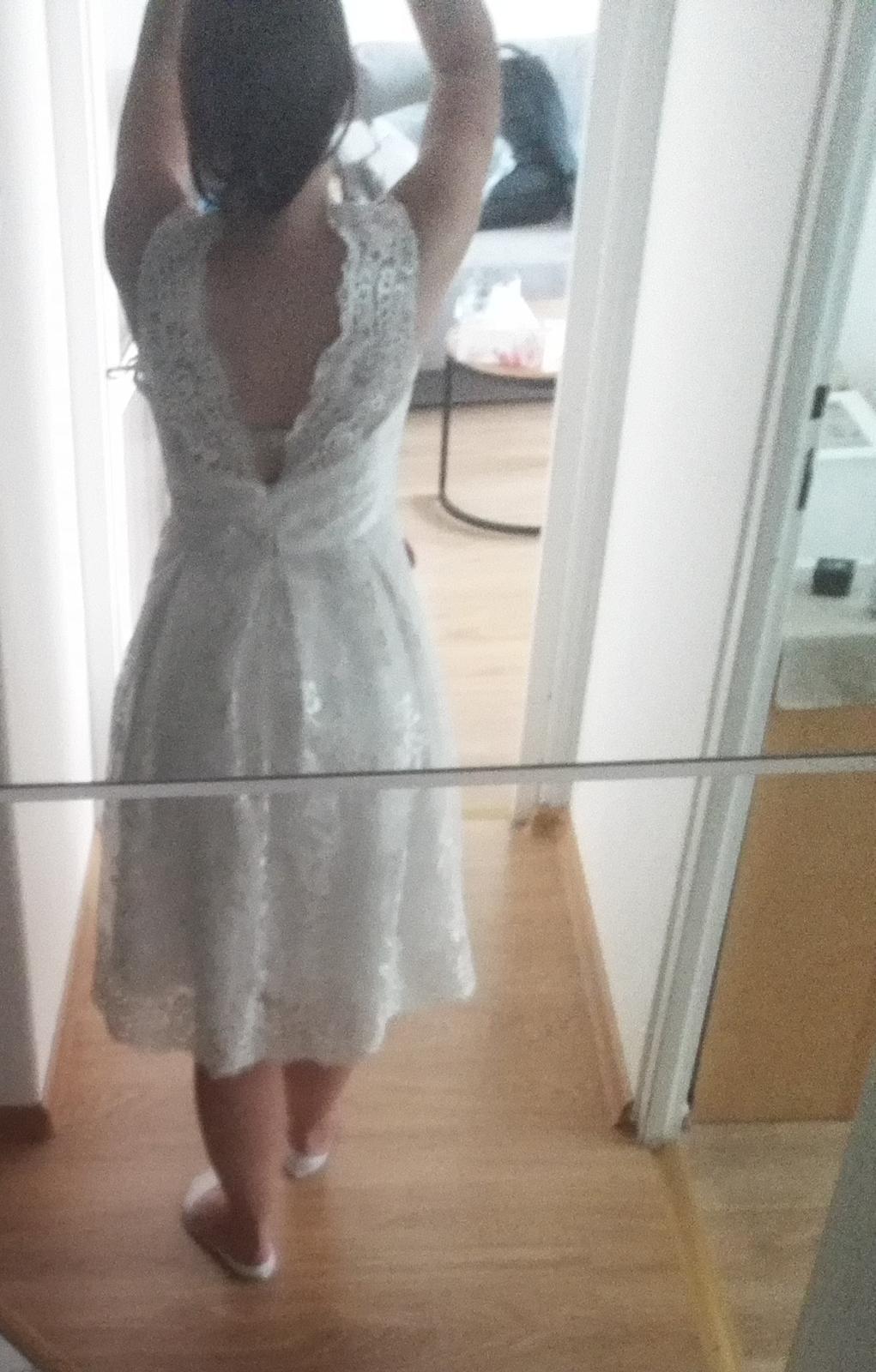Svatební šaty krátké - Obrázek č. 1