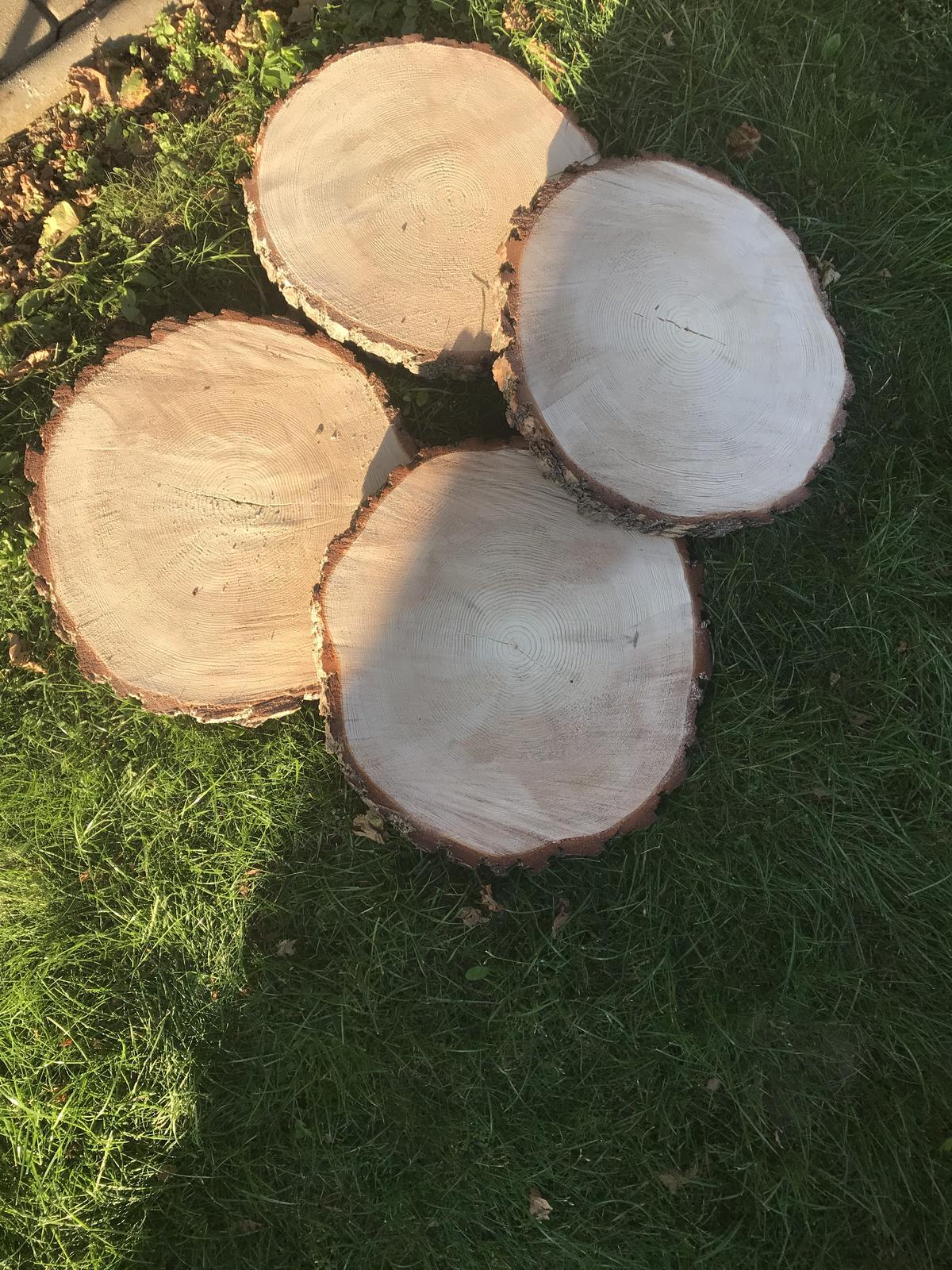 Dřevěné plátky - Obrázek č. 1