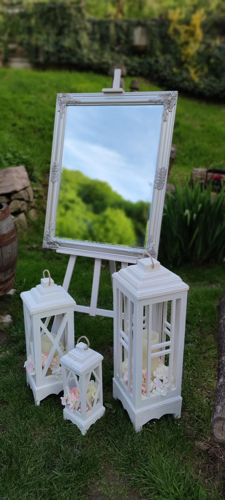 Zasadací poriadok zrkadlo na stojane - Obrázok č. 1