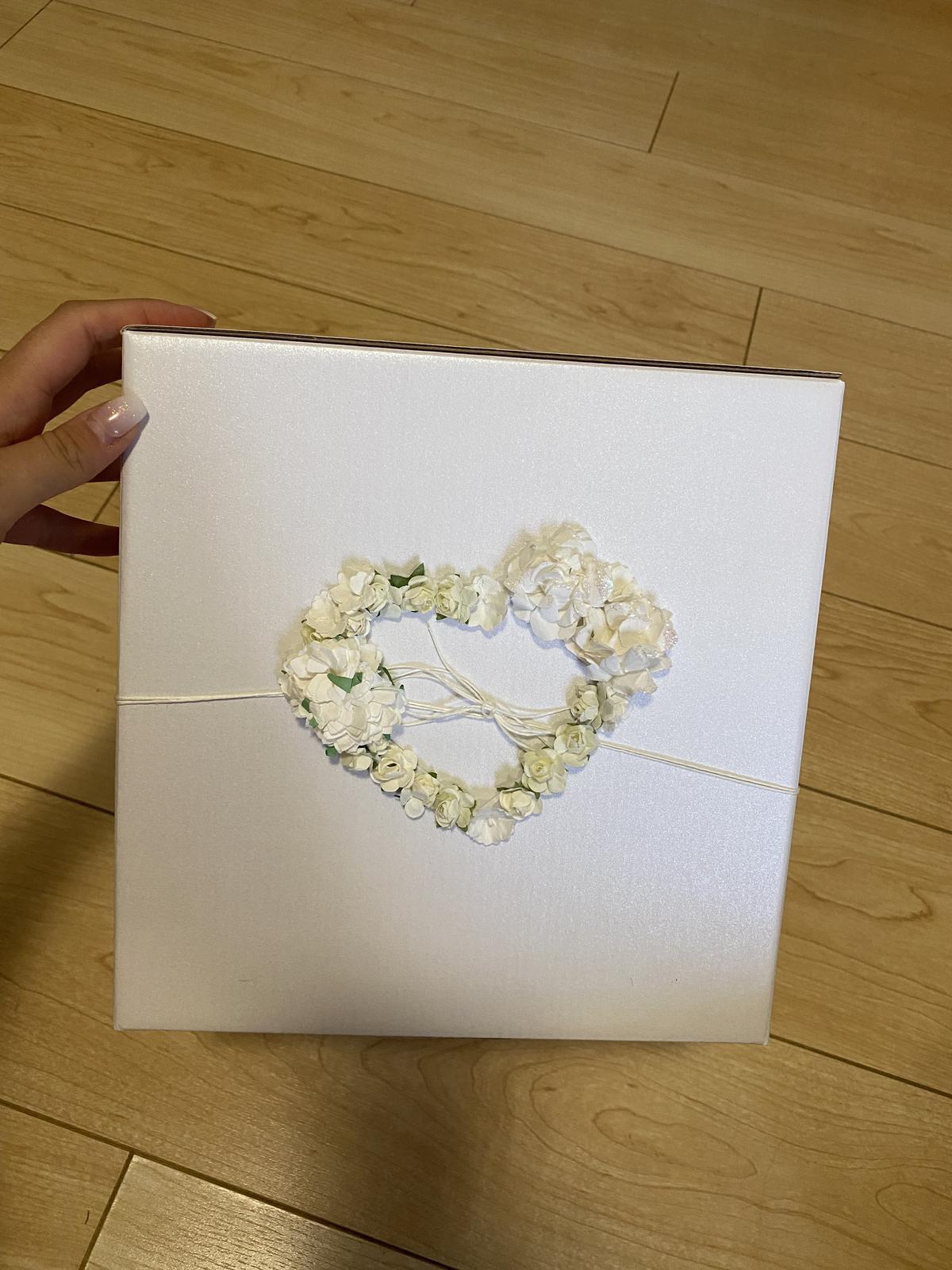 Krabice na svatební blahopřání - Obrázek č. 1