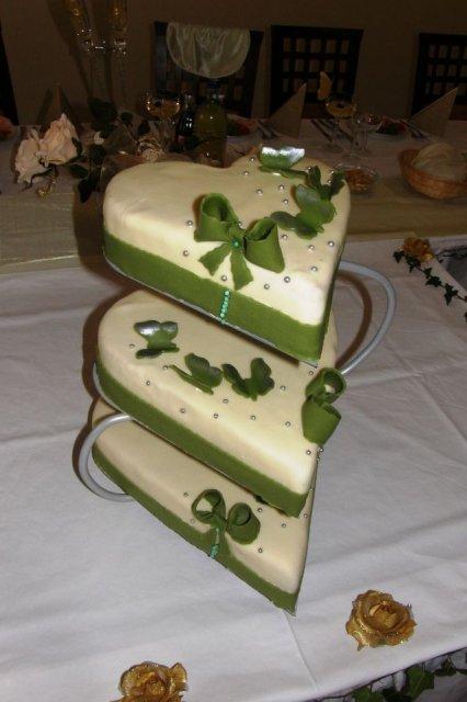 Peťka Halamová{{_AND_}}Ernest Nagy - svadobna torta