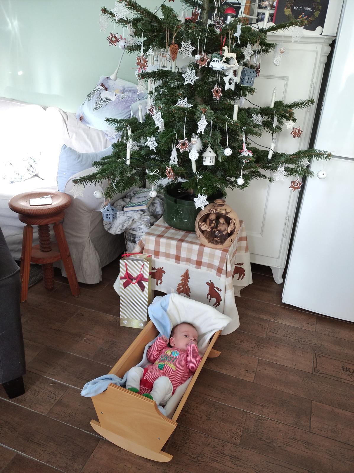 Stromeček s vlastním Jezulátkem... - Obrázek č. 1