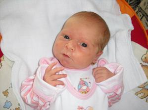 Narodila se 13.6.2009