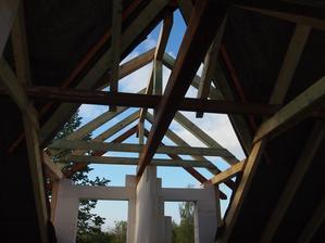 krov nad viýřem u dětských pokojů