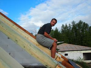 na střeše :-)