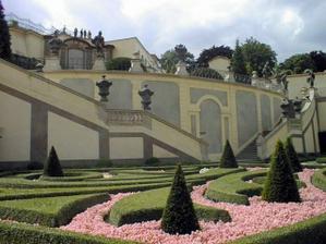 Vrtbovská zahrada- obřad