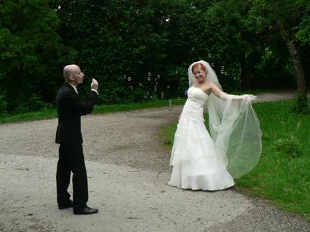 Inšpirácia vs realita - šaty v deň svadby