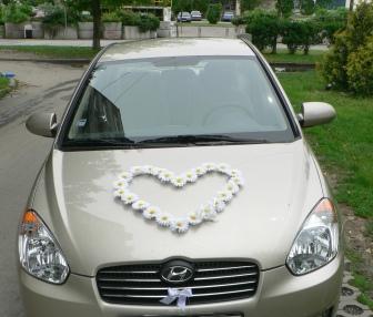 Inšpirácia vs realita - svadobné autíčko
