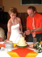 Krájíme dortík :)
