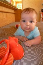 Naše malá Lucinka :) (narozena 4.5.2011)