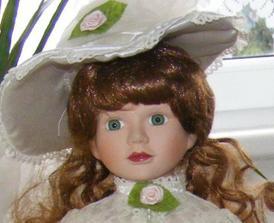 Bábika na hlavný stôl