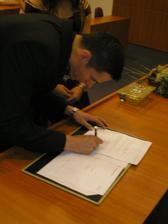 Semnatura lui... - jeho podpis.