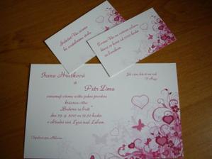 naše oznámko a pozvánky