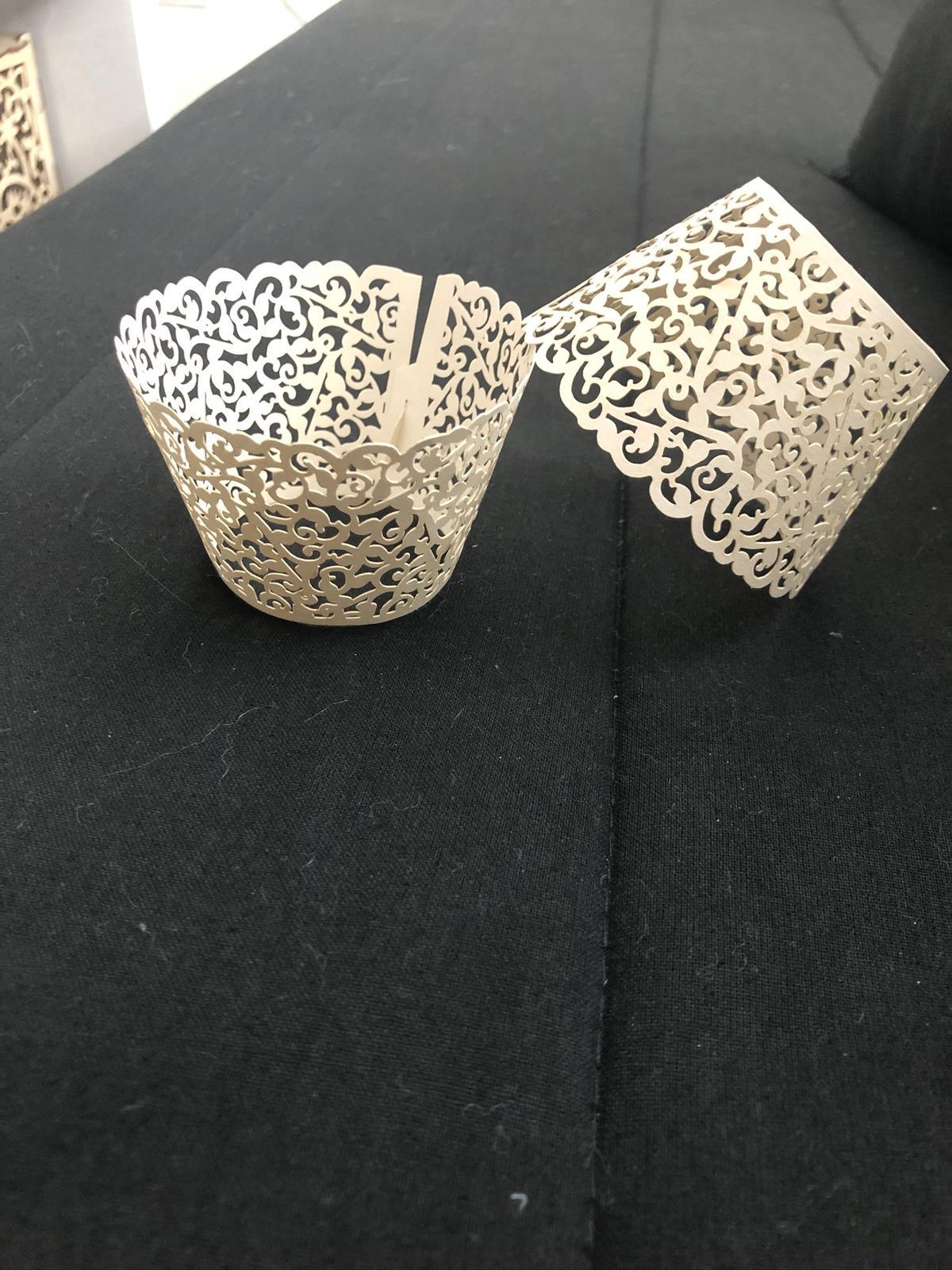 Ivory obal na cupcaky - Obrázek č. 1