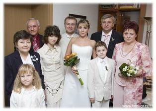 rodiče a dcery ženicha a rodiče a syn nevěsty