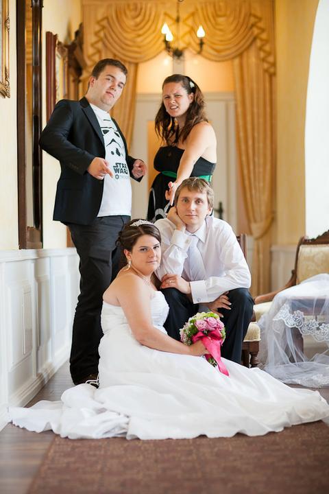 Svadobné foto - Lukáš Ronec - ... aj trochu bláznivejšiu :-D