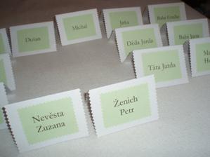 jmenovky na stůl - pro ostatní