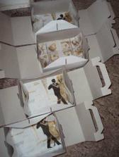 výslužkové krabičky s ubrousky