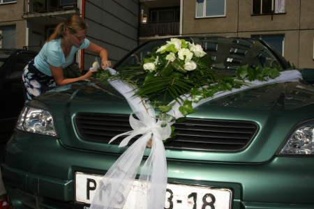 Zuzana Klírová{{_AND_}}Petr Beran - Zdobení aut