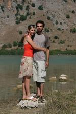 ze svatebky - Kourna Lake, Kréta