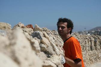 ze svatebky - pevnost v Heraklionu, Kréta