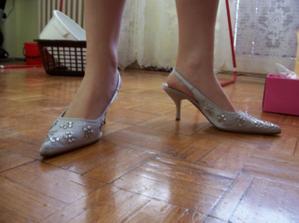 botky na nohách