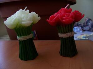 tyto krásné svíčky dnes dorazily
