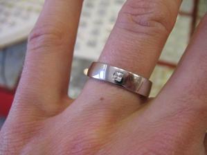 A nas snubny prsten:)