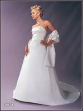 nová kolekce svatební salon Chantal (i další troje šaty) - dělají krasnou postavu - vyzkoušeno ;-)