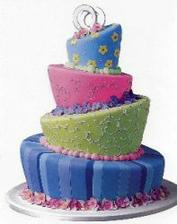 Tak to je fakt dost ulítlej dort, ale vymakanej!