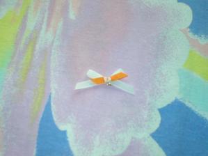 mašlička na myrty pro svatebčany