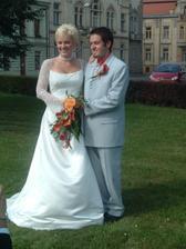 novomanželé Součkovi