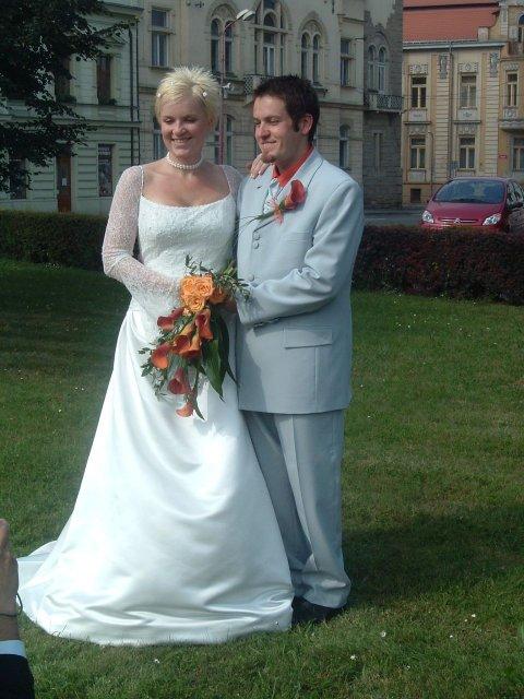 Péťa Nováková{{_AND_}}Honza Souček - novomanželé Součkovi