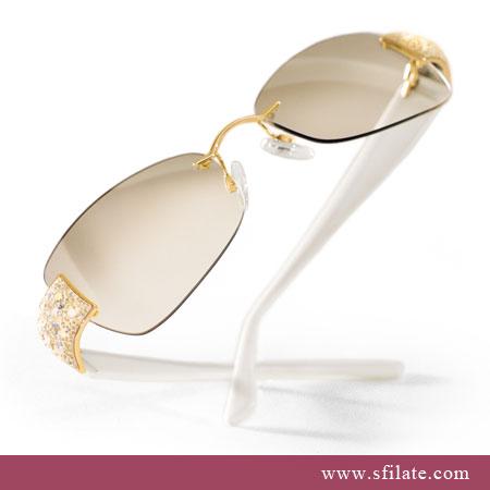Saty, saty, saty - slnecne okuliare pre nevestu-Swarovski