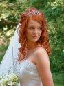 Ucesy+make-up - krasne cervene vlasy