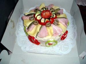To by bylo něco pro mne - slaný dort.