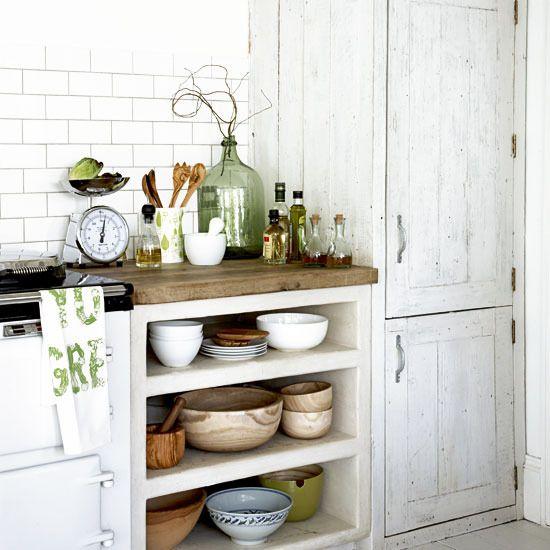 Drevo a biela v kuchyni - Obrázok č. 23