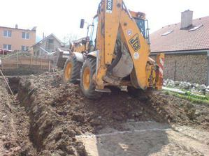 kopanie zakladov - maj 2008