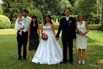 naši svědci:-))celá rodinka...