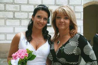 S mojí milovanou sestřičkou a zároveň svědkyní