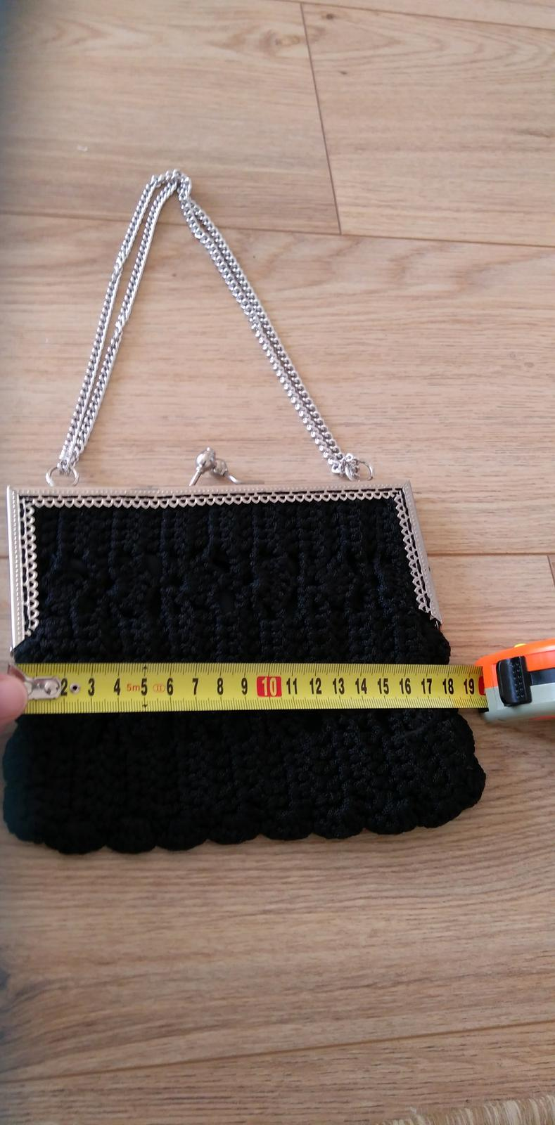 Čierna kabelka - Obrázok č. 2