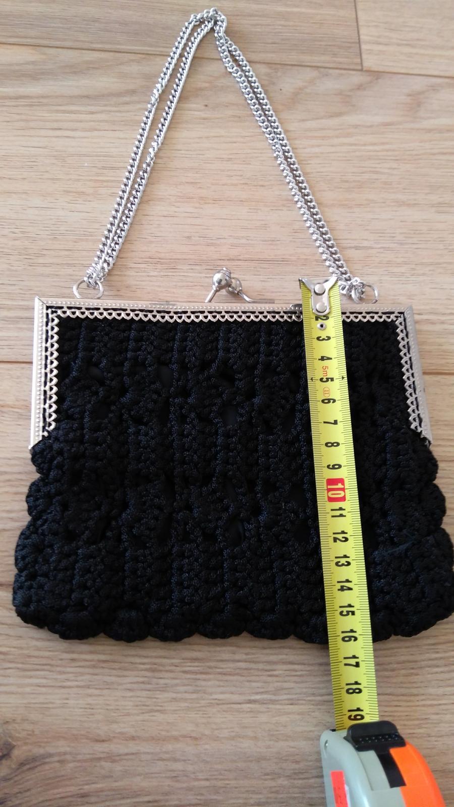 Čierna kabelka - Obrázok č. 3