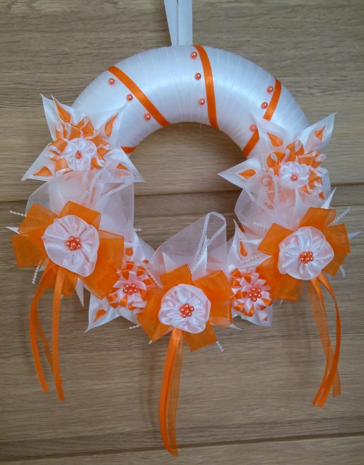 Oranžový veniec - Obrázok č. 1